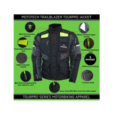 MotoTech Trailblazer TourPro Riding Jacket - Level 2