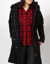 Soho Grand Hooded Coat