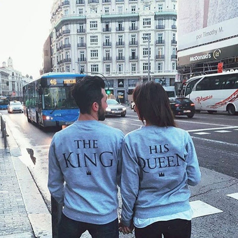 Royals Couples Sweater