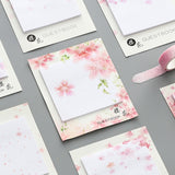 Fresh Cherry Sakura Natural Memo Pad