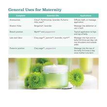Load image into Gallery viewer, Birth Kit Essentials - Your Guide to Essential Oil Use in Maternity & Beyond - 10 Pack