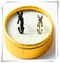 Load image into Gallery viewer, Cuddly Boston Terrier Ring (LIMITED SUPPLY)