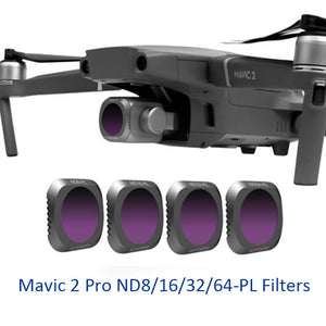 4 in 1 Camera Lens Filters for DJI Mavic 2 Pro
