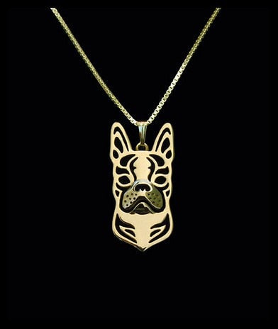 Regal Boston Terrier Necklace (Keep Your Boston Close To Your Heart)