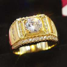 Load image into Gallery viewer, Cubic Zirconia Men's Ring