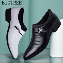 Load image into Gallery viewer, BIGTREE Italian Fashion Elegant Oxford Shoes