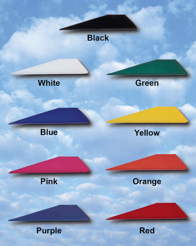 Aero-Flight Arrow Vanes (12-Pack)