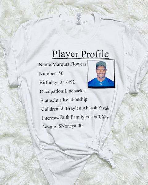 PLAYER PROFILE!