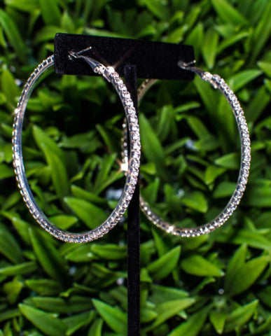 Diamond Crush Hoops