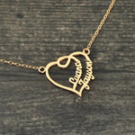Heart 2 Heart Name Necklace
