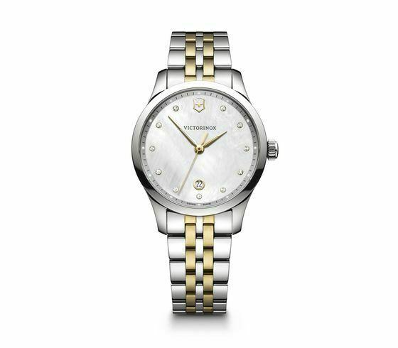 Victorinox Alliance Small ST Steel Mother of Pearl Dial Women's Watch 241831 - luxfinejewellery