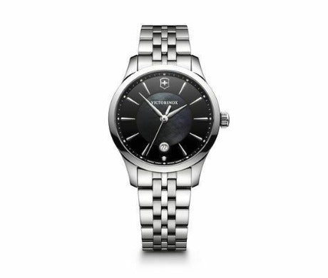 New Victorinox Alliance Small ST Steel Mother of Pearl Dial Women's Watch 241751 - luxfinejewellery