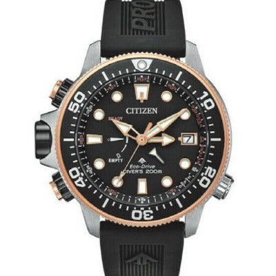 New Citizen Promaster AquaLand Limited Edition Pro Diver Men's Watch BN2037-03E - luxfinejewellery
