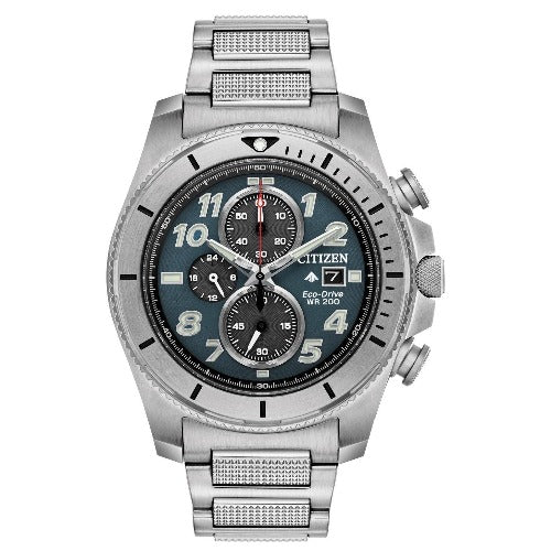 Citizen PROMASTER TOUGH Eco Drive ST Steel Gray Dial Men's Watch CA0720-54H - luxfinejewellery