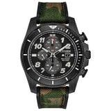 Citizen PROMASTER TOUGH Eco Drive ST Steel Black Dial Men's Watch CA0727-12E