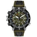 Citizen PROMASTER ALTICHRON Stainless Steel Green Dial Men's Watch BN5050-09X - luxfinejewellery