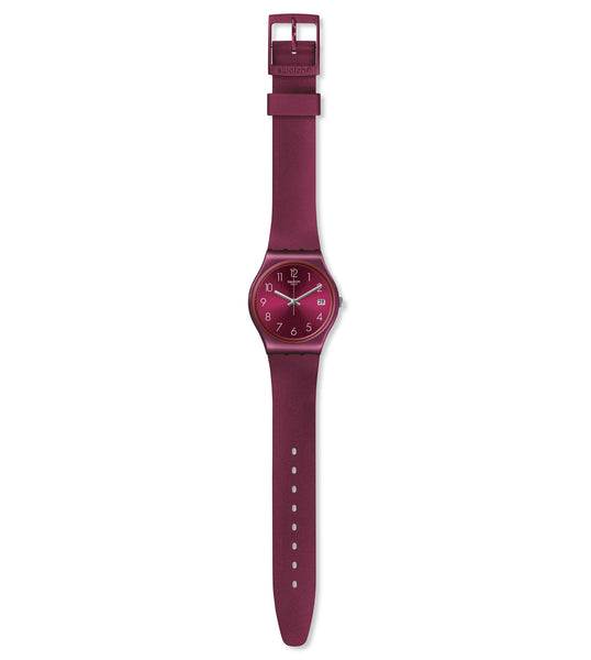 Swatch Redbaya Quartz Wristwatch GR405