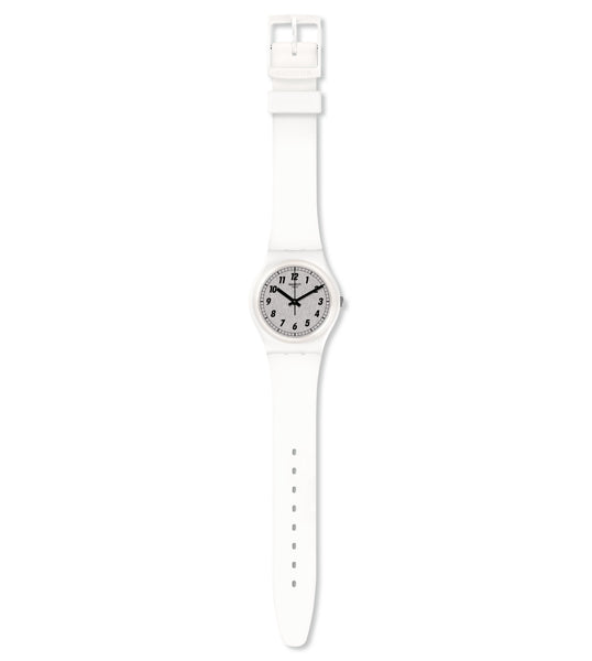 Swatch Something White Quartz Wristwatch GW194