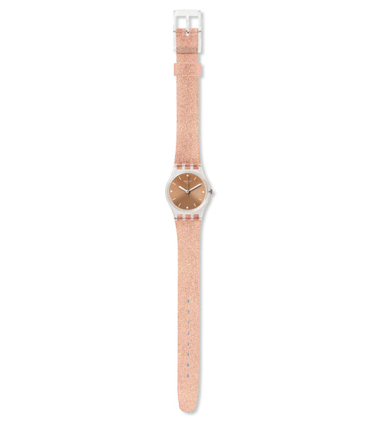Swatch Pinkindescent Too Quartz Wristwatch LK354D