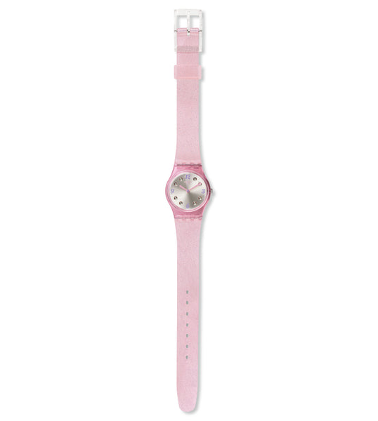 Swatch Rose Glistar Quartz Wristwatch LP132C