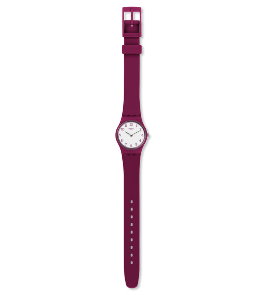 Swatch Redbelle Quartz Wristwatch LR130