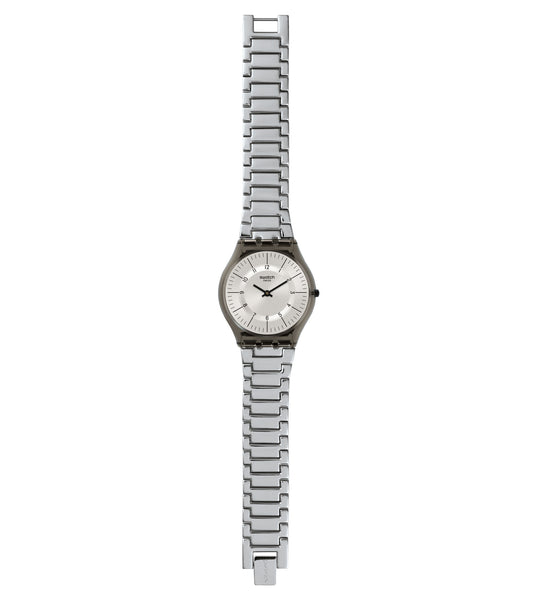Swatch Metalmix Quartz Wristwatch SFM134G
