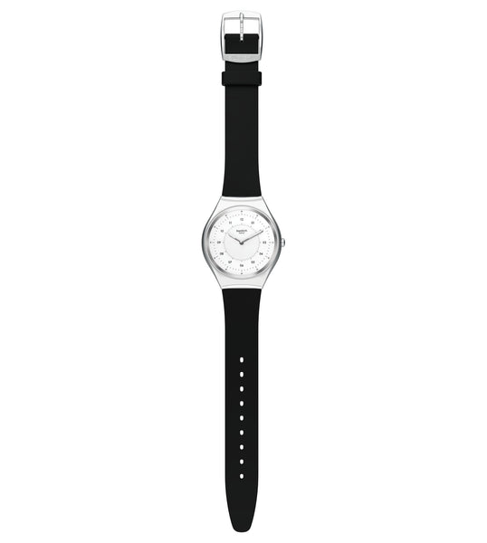 Swatch Skinnoiriron Quartz Wristwatch SYXS100