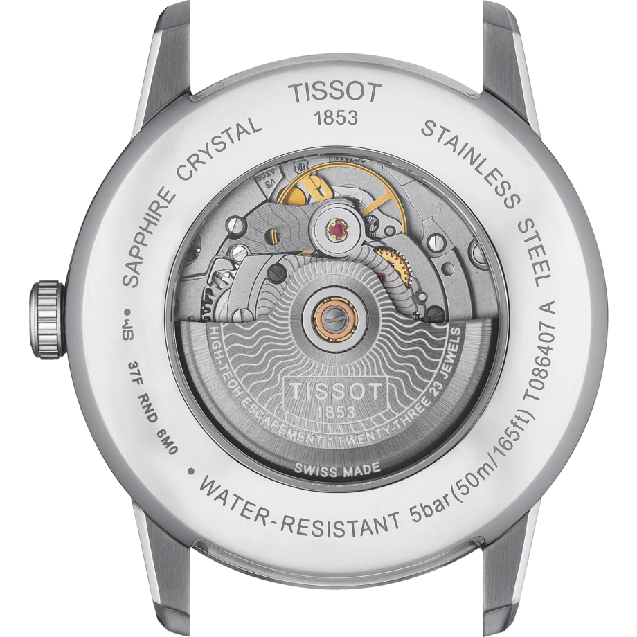 TISSOT LUXURY POWERMATIC 80 T086.407.16.037.00
