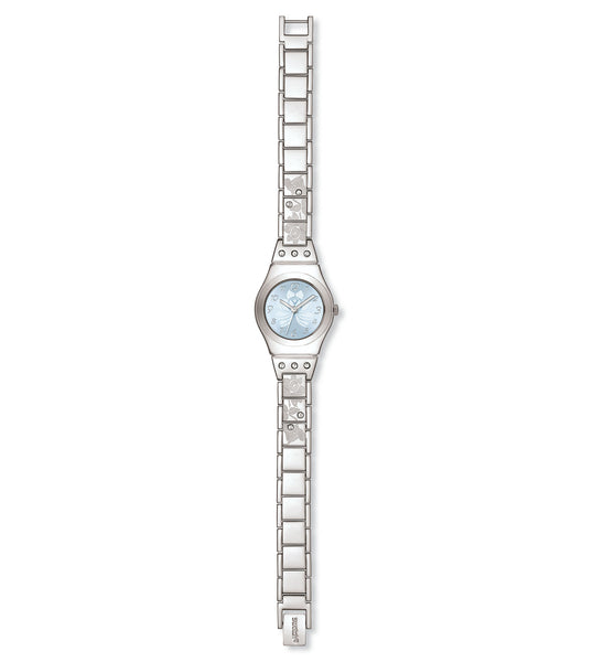 Swatch Flower Box Quartz Wristwatch YSS222G