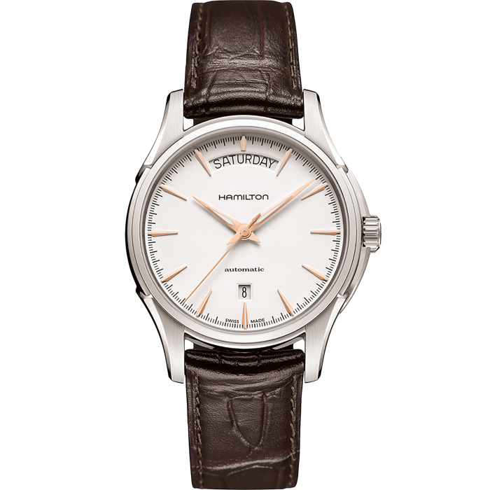 Hamilton Jazzmaster Day Date Auto Automatic 40mm H32505511