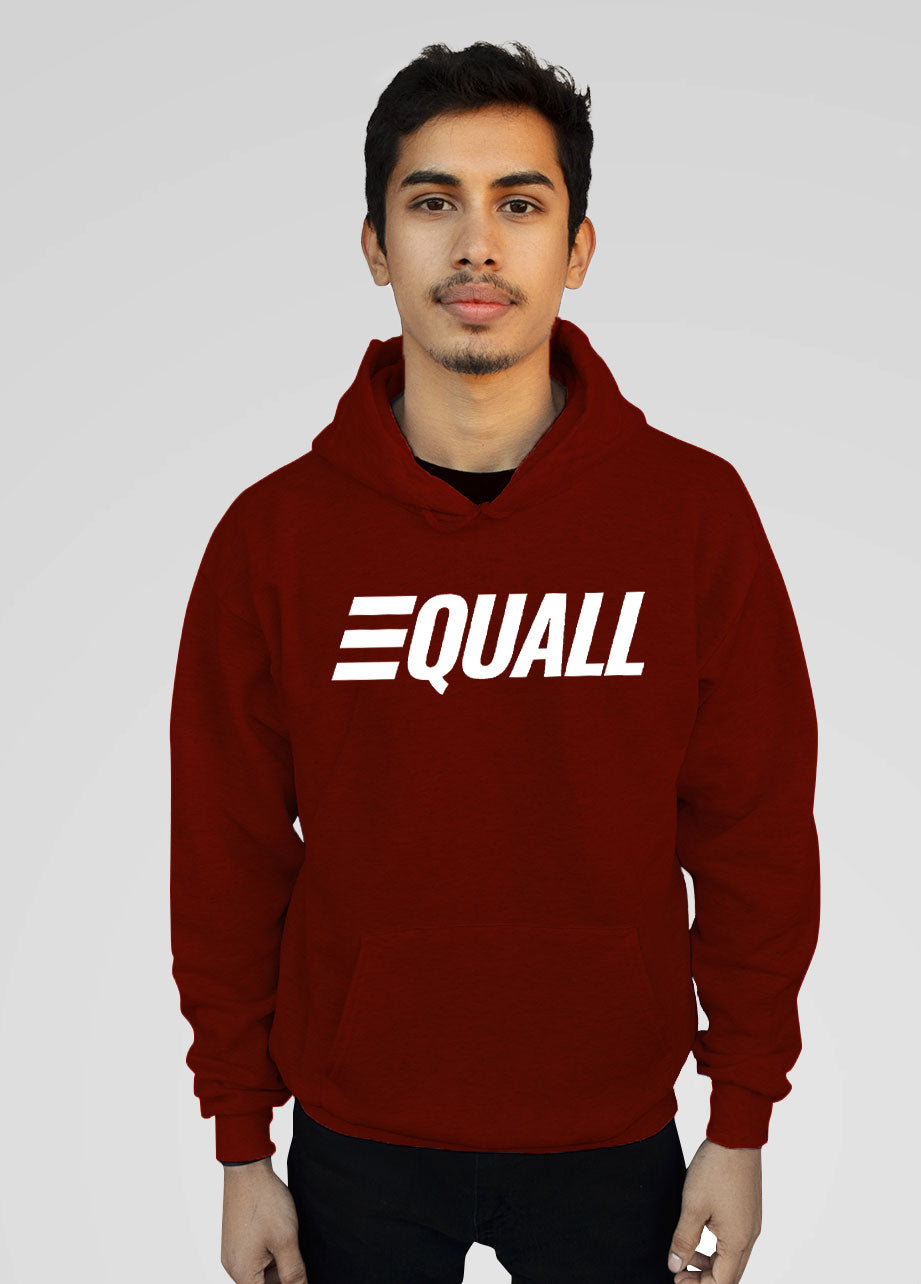 EQUALL Hoodie Red