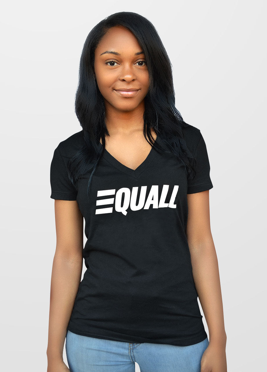 EQUALL Women's V-neck T-Shirt.