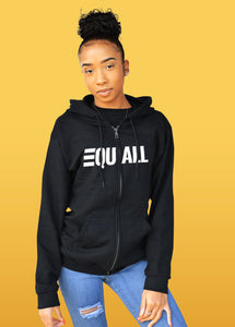 EQUALL Women's Zip Up Hoodie