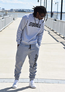 EQUALL Grey Crew Neck Sweater