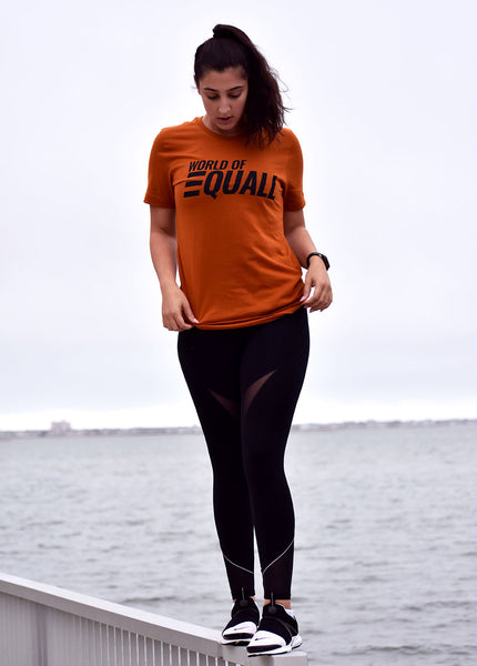 EQUALL Texas Orange T-shirt (Unisex)