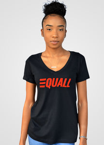 EQUALL Women's V-Neck T -Shirt