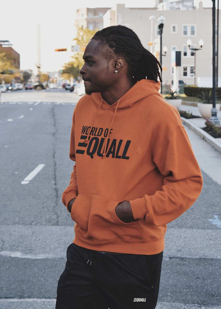 EQUALL Rusty Orange Hoodie (Unisex)