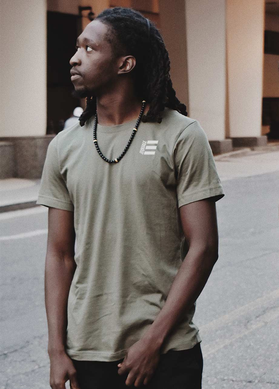 EQUALL Olive Green Shirt