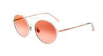 Etnia Barcelona Round Full Rim Metal Sunglasses for Women - rossetti-glasses