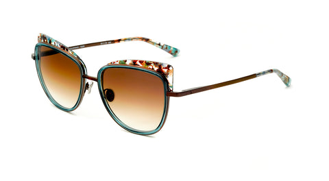 Etnia Barcelona Cat Eye YALETOWN SUN TQBR - rossetti-glasses