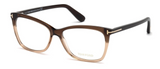 Thin Butterfly Optical Frame In Brown