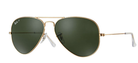 Ray-Ban AVIATOR CLASSIC  Green Classic G-15 RB3025 805289114567 - rossetti-glasses