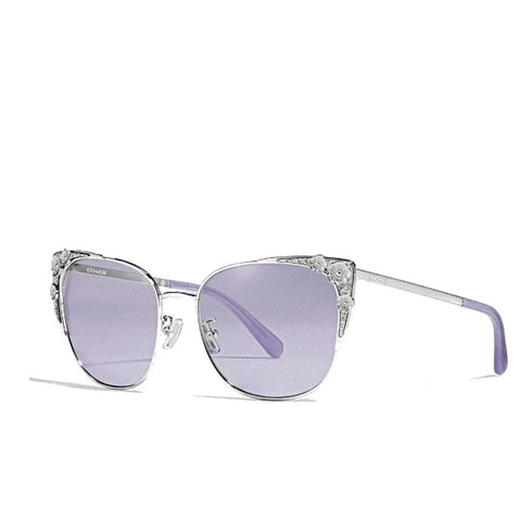 Coach Metal Tea Rose Cat Eye Sunglasses - Drizik Eyecare