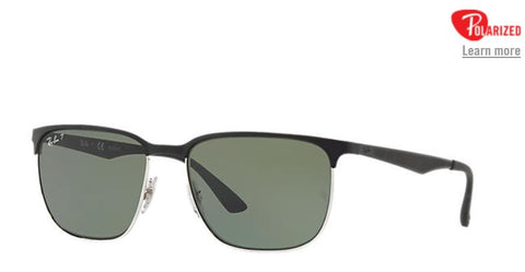 Ray-Ban RB3569 Men Sunglasses RB3569 90049A 59-17 - rossetti-glasses