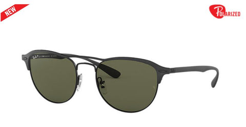 Ray-Ban RB3596 Square Mens Sunglasses Polazired - rossetti-glasses