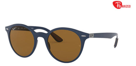 Ray-Ban RB4296 Blue Peek Brown Polarized Lense - rossetti-glasses