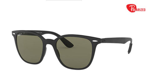 Ray-Ban RB4297 Black Peek Green Polarized Sunglasses - Drizik Eyecare