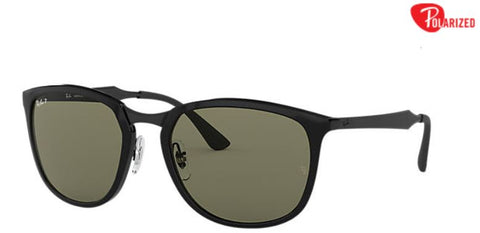 Ray-Ban RB4299 Black Nylon Green Polarized Lenses - rossetti-glasses