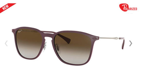 Ray-Ban RB8353 Square Frame Polarized Women Sunglasses - rossetti-glasses