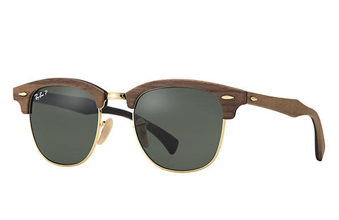Ray-Ban RB3016M Clubmaster Wood Sunglasses - rossetti-glasses